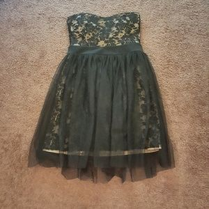 Tulle and lace party dress